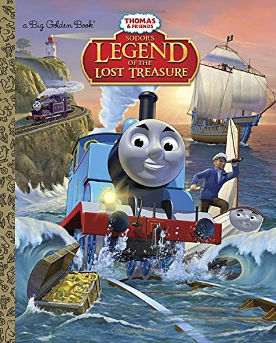 Sodor's Legend of the Lost Treasure (Thomas & Friends) (Big Golden Books)