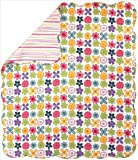 Manual Izzy Reversible Quilt Flower Pattern 50 X 60-Inch