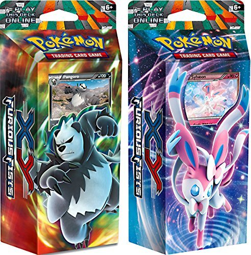 Pokemon X & Y Furious Fists Dark Hammer & Enchanted Echo Theme Decks by Pokemon