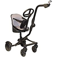 Roma Uptown Rider 4 Wheel Toddler Seat & Steering Wheel to fit All Prams, Pushchairs and Buggies