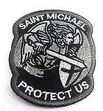 Polizeimemesshop St.Michael Textil Patch Silber Edition