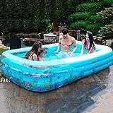 Bathtub PHTW HTZ Kinderschwimmbad verdickte großen Pool Erwachsenen Haus Bad Baby Baby aufblasbaren Pool A+ (größe : 1.3m)