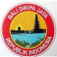 PARCHE BORDADO Bali Dwipa Jaya Indonesia bordado Parche Travel Badge Applique