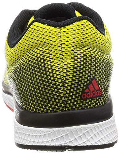 adidas Mana Bounce 2 M Aramis, Chaussures de Running Homme, EU Bright Yellow / Core Black / Core Red