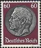 Prophila Collection Deutsches Reich 493 Wasserzeichen Waffeln 1933 Hindenburg (Briefmarken für Sammler)