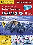 Winter Wonderland Cortina d'Ampezzo: Cartina Invernale Cortina d'Ampezzo (Winter-Wanderkarten)