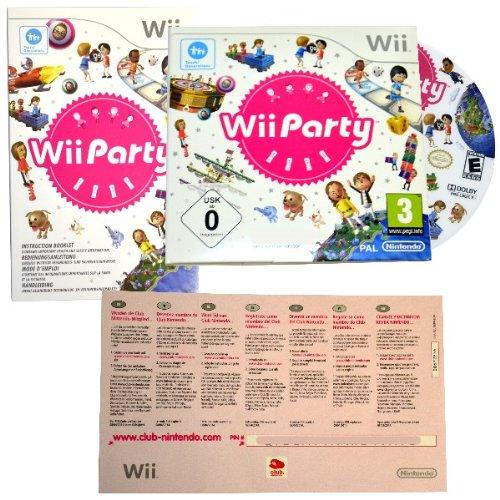 Wii Party - 80 Mini Spiele für Remote / Motion Plus Controller + Nintendo Club Code