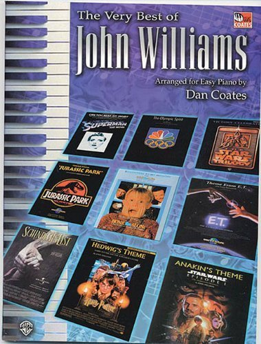 The Very Best of John Williams: Easy Piano by Dan Coates (2002-06-18)