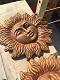 Sonne gold cm 32 x 32 in terracotta