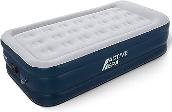 Active Era Premium Luftbett Einzelbett - 91 x 187 x 46 cm - mit eingebauter Elektrischer Pumpe und Integriertem Kissen