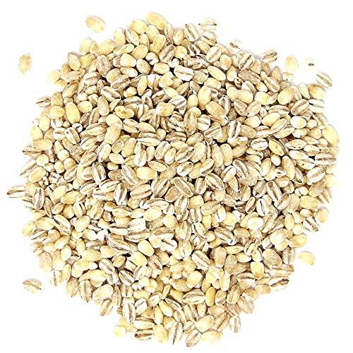Orge mondé Bio, 20 Livres - Sans OGM, casher, cru, grain en vrac, produit des États-Unis
