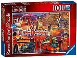 Ravensburger Die Sehenswürdigkeiten von London, Spielset Puzzle, 1000Einzelteile