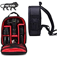 WORLD LOOK® All in One Camera Bags Series Waterproof DSLR Backpack Camera Bag, Lens Accessories Carry Case for All…