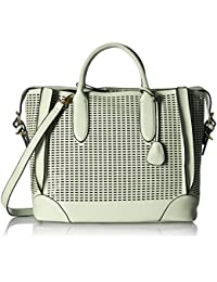 Gussaci Italy Women's Handbag (White) (GUS025)