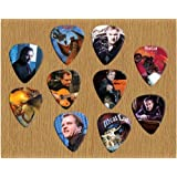 Printed Picks Company Meat Loaf Signed Autograph Loose Guitar Picks X 10 (Limited to 500 sets of 10 Picks)