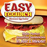 As Seen On Tv Set Of 2 Easy Eggwich - Innovative Microwave Egg Cooker