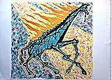 Salvador Dali - Giraffe on Fire