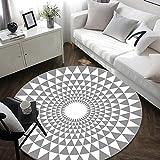 tapis rond 120 cm cuisine maison. Black Bedroom Furniture Sets. Home Design Ideas
