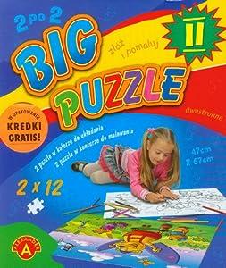 Big puzzle II do kolorowania