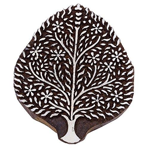 Textildruck Block Holz Stempel Braun Baum Scrapbook Stempel Keramik Briefmarken