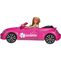 Simba Steffi Love con Auto VW Beetle Cabriolet, 3 Anni, 105733353
