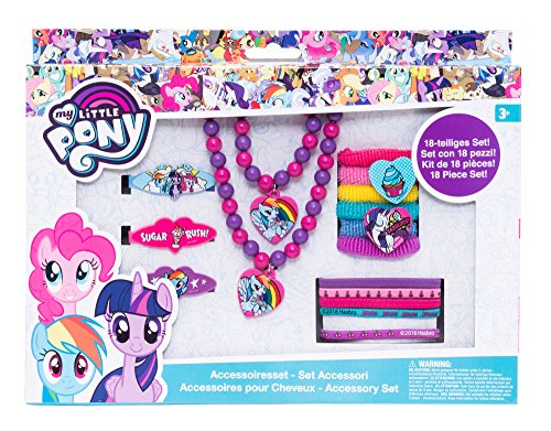 Joy Toy 95992 My Little Pony Hair Jewellery Set in Gift Wrapping, 18.5 x 2.5 x 23.5 cm