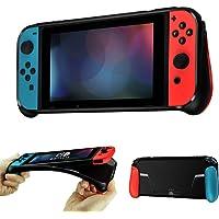 Opard Custodia protettiva in silicone antiscivolo con slot per scheda di gioco e resistente ai graffi per Nintendo…