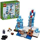 LEGO - 21131 - Minecraft - Jeu de Construction - Les Pics de Glace