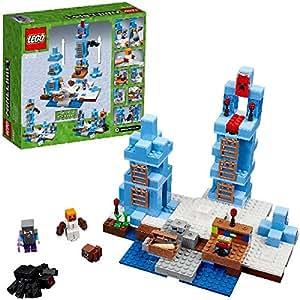 lego 21131 minecraft jeu de construction les pics de glace jeux et jouets. Black Bedroom Furniture Sets. Home Design Ideas