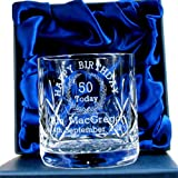 50th Birthday Whisky Glass for Him, Personalised 50th - Best Reviews Guide