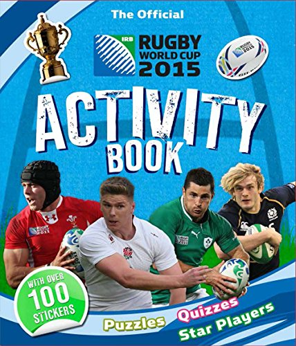 The Official Rugby World Cup 2015 Activity Book por Tasha Percy