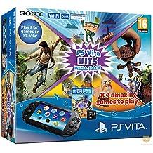 Console Playstation Vita + Hits Mega Pack + Carte Mémoire 8 Go pour PS Vita
