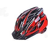 Scott 11 x Farben Fahrradhelm, Erwachsene Damen und Herren Sport Bike Helm für Road & Mountain Biking, Leichter Helm mit Abnehmbarem Visier und rutschsicher Verstellbar.