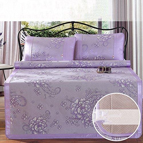 LJ&XJ Faltbare kühlen sommer pad matratze schlafen,Kühlung der matratze top mat atmungsaktive sommer schlafen mat-bing si,König & königin-C Twinch2 (Mikrofaser Königin)