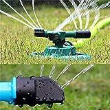 Mamum Garten lemniscus Rotary Sprinkler, Rasensprenger Garten Sprinkler Head Automatik Wasser stylischer 360° Rotation