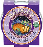 Badger Night Night Balm Certified Organic Calming Sweet Dream Balm For Kids 21g