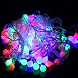Generic RGB : 10M 100 LED Balls Globes F...
