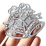 Weihnachten Bell Metallstanze Ausschnitt Schablonen Schablone