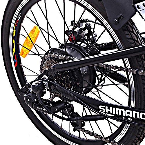 Cyclamatic Pro CX4 Dual Suspension Foldaway Electric Bike