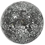 ROLLER Deko-Kugel - Silber - Mosaik