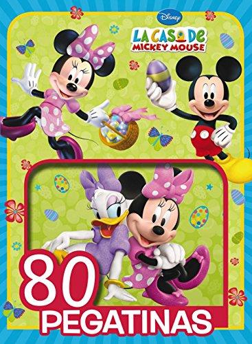 La casa de Mickey Mouse. 80 Pegatinas (Hachette Infantil - Disney - Prescolar) por Varios autores
