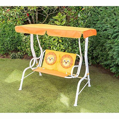 scotrade Utilisation Quotidienne Neuf Style Décoration de Jardin pour Enfant 2 Places Hamac – 6 + – Lion
