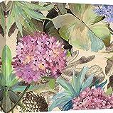 Art Print Cafe - Cuadro - Impresion Sobre Lienzo - Eve C. Grant, Hortensias Rosadas - 50X50 cm
