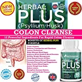 #1 Effective COLON CLEANSER & DETOX Tablets★ Extra Strength for WEIGHT LOSS For Women & Men.★ Super Detox Cleanse Formula with 12 powerful ingredients★ including Psyllium Husk, Aloe Vera Extract,Fennel Seed, Ginger Root Powder etc★ for gentle Internal Cleansing and Detox fast.★ Effective Colon Detox Pills.★ Our Herbal Plus tablets are designed to Flush all types of Toxins fast★ Boost Energy.★ Safe & Effective.★ Made in The UK. immagine