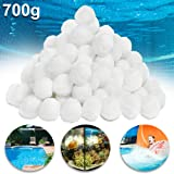 UISEBRT Filterbälle Pool 700g - Filter Balls Sandfilter ersetzen 25 kg Filtersand