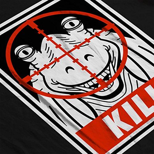 Kill Jarjar Binks Star Wars Men's Vest Black