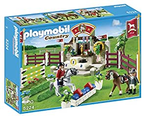 Playmobil 5224 Country Pony Farm Horse Show - Multi-Coloured
