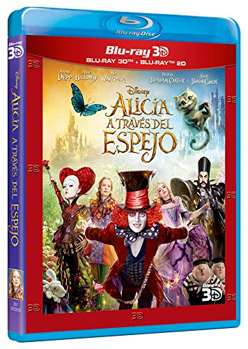 Alicia A Través Del Espejo (Blu-ray 3D + Blu-ray) [Blu-ray] 61c0Z5wDfCL