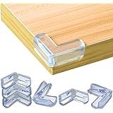 Protector de Esquina (20pcs), Protecciones Transparentes Esquinas Protectores para Muebles, Fuerte Adhesión Protege Esquinas