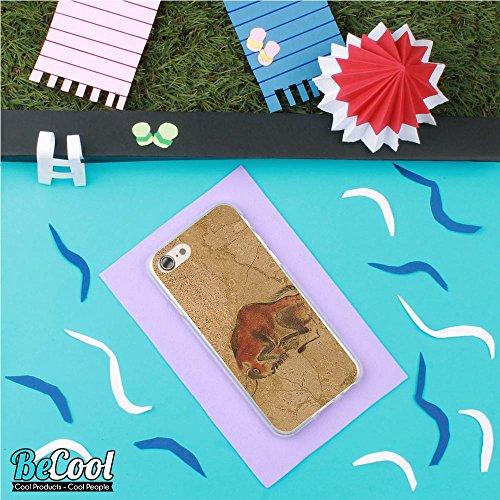 BeCool®- Coque Etui Housse en GEL Flex Silicone TPU Iphone 8, Carcasse TPU fabriquée avec la meilleure Silicone, protège et s'adapte a la perfection a ton Smartphone et avec notre design exclusif. Art L1673